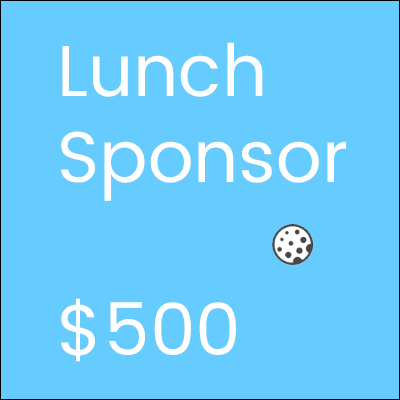Golf Tournament Lunch Sponsor