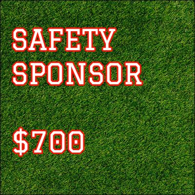 Safety Sponsorship $750