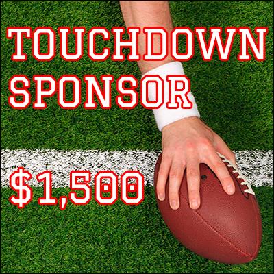 Touchdown Sponsor $1,500
