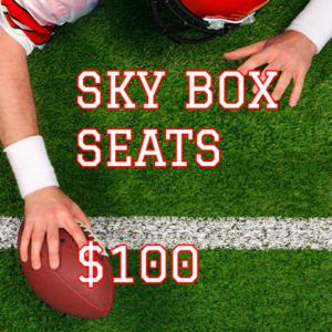 summer fundraiser skybox tickets