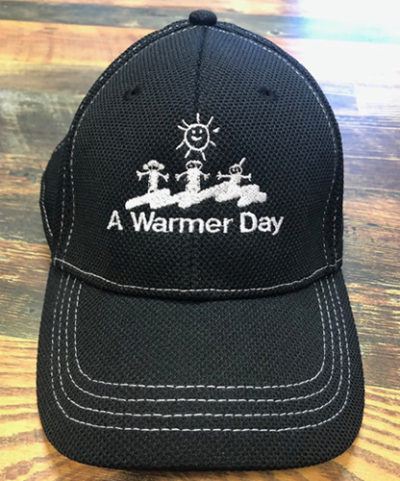 buy a black and white ball cap for charity
