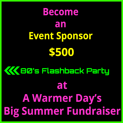 event sponsor big summer fundraiser