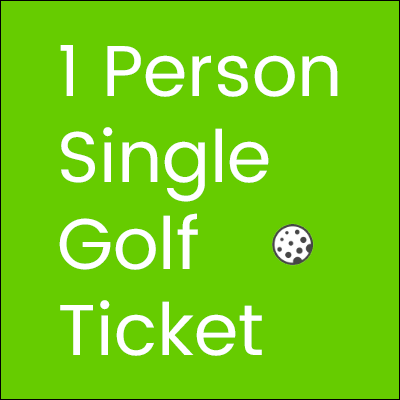 single ticket for 2020 Golf Tournament