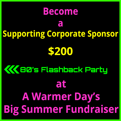 Big Summer Fundraiser Supporting Corporate Sponsor