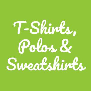 T-Shirts, Polos & Sweatshirts